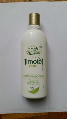 Timotei Après Shampoing Femme Enrichie à l'extrait de Thé Vert Bio Cheveux Normaux - Product - fr