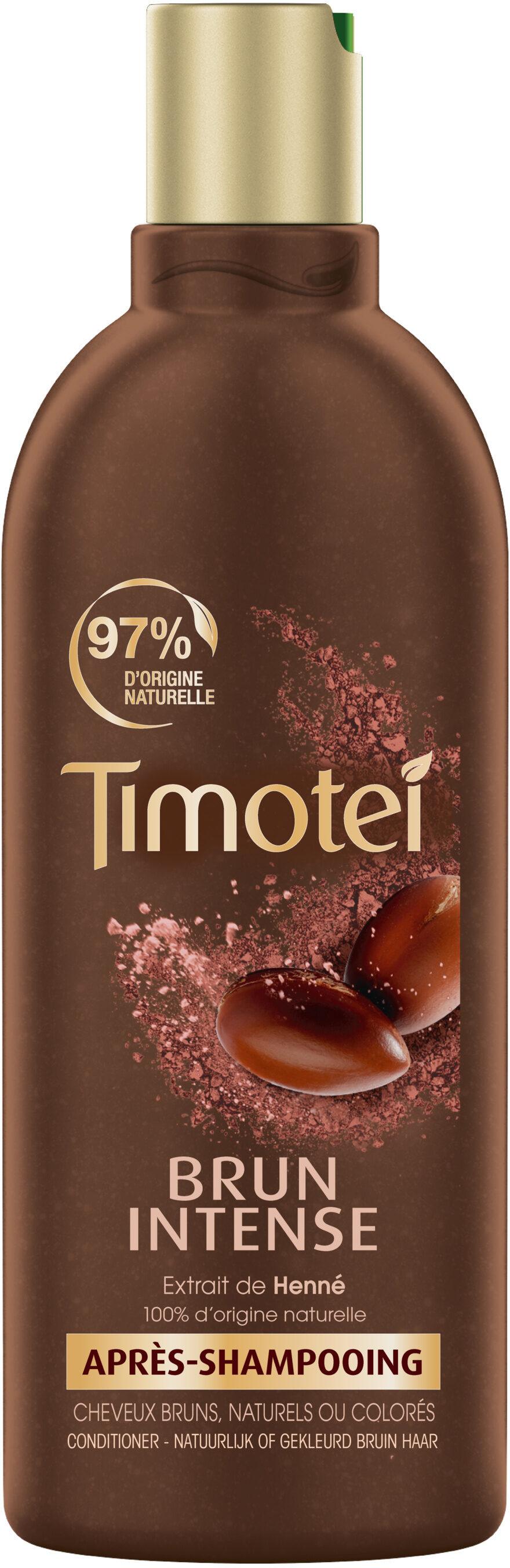 Timotei Brun Intense Après Shampoing Enrichie à l'Extrait de Henné Cheveux Bruns - Produit - fr
