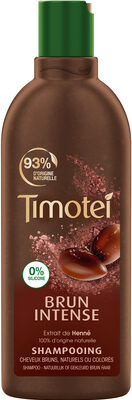 Timotei Brun Intense Shampoing Extrait de Henné Cheveux Bruns - Product