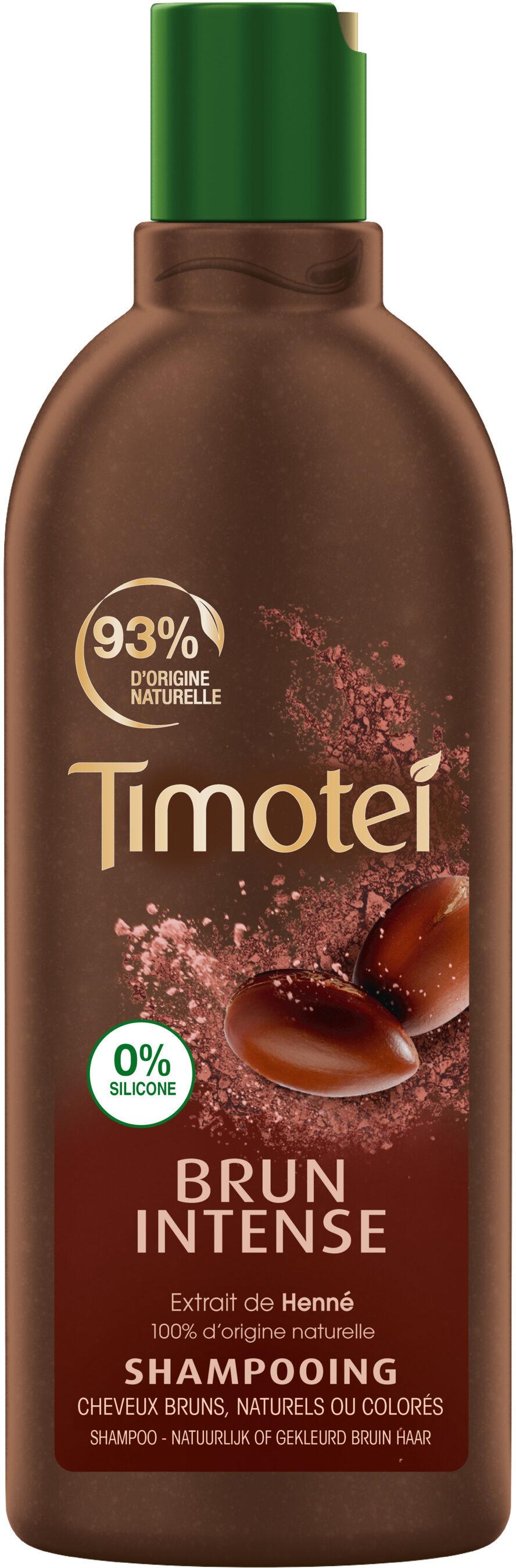 Timotei Brun Intense Shampoing Extrait de Henné Cheveux Bruns - Product - fr