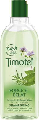 Timotei Shampoing Force & Eclat aux extraits de Plantes des Alpes Cheveux Normaux - Product - fr