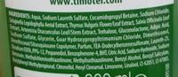 Force & Eclat extrait de plantes des Alpes - Ingredients