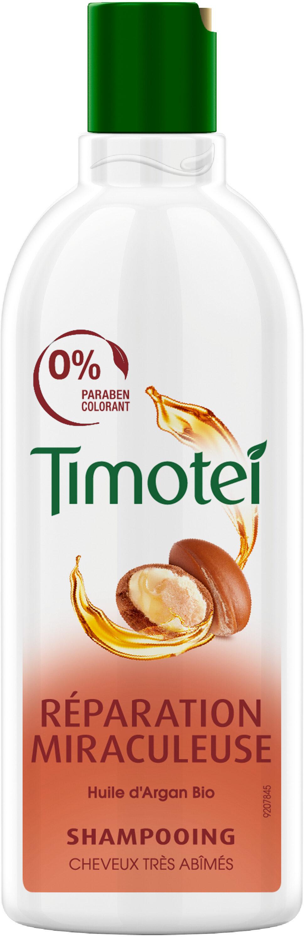 Timotei Shampoing à l'Huile d'Argan Bio Cheveux très Abimés - Product - fr