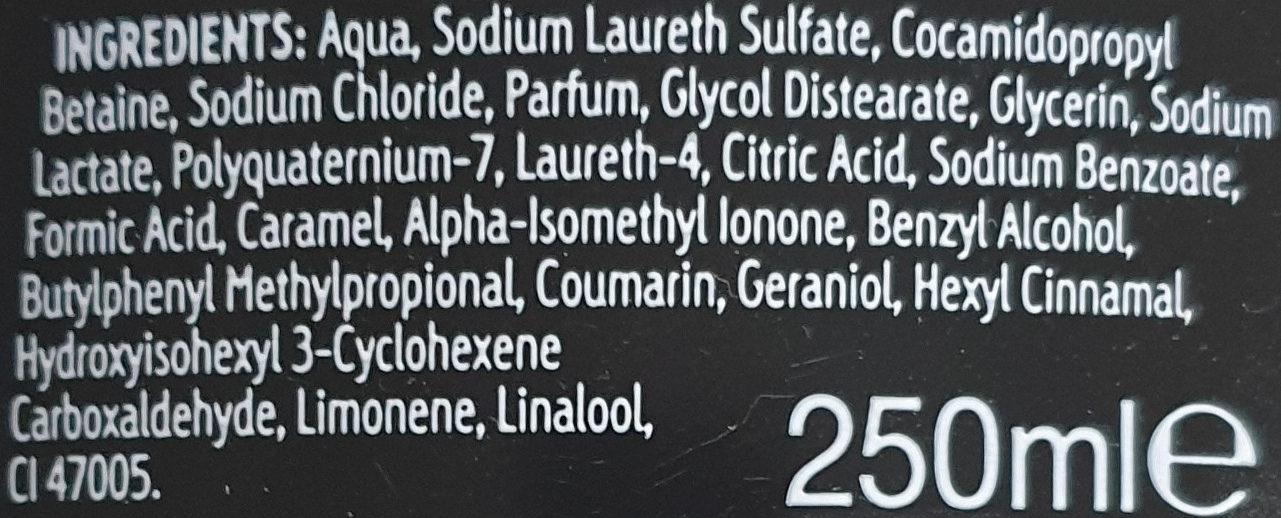 noire - Ingredients