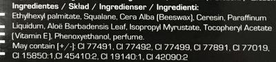 Lipstick - Ingredients