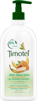 Timotei Shampooing & Apres Shampooing 2en1 Douceur à l'Huile d'Amande douce 100% d'origine naturelle Cheveux Normaux Flacon - Product - fr