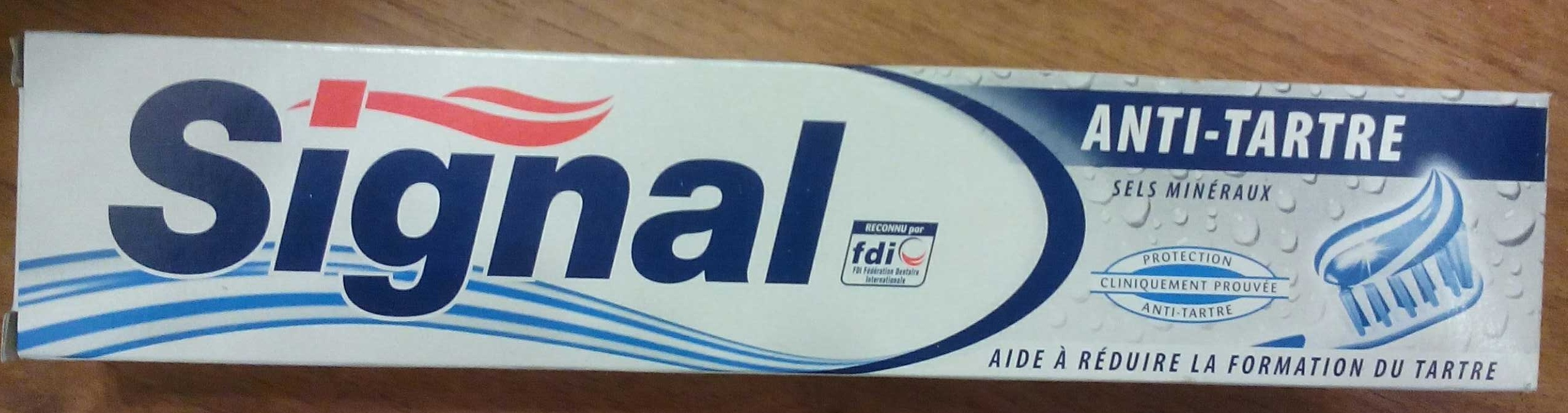 Signal Dentifrice Anti Tartre - Product - fr