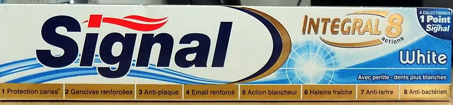 Signal Integral White - Produit