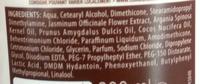 Timotei Après-Shampooing aux Huiles d'Argan Bio - Ingredients - fr