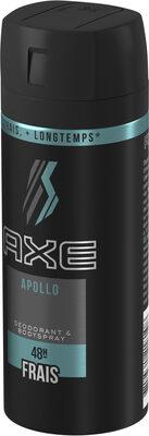 AXE Déodorant Homme Spray Apollo Frais 48h - Produit - fr