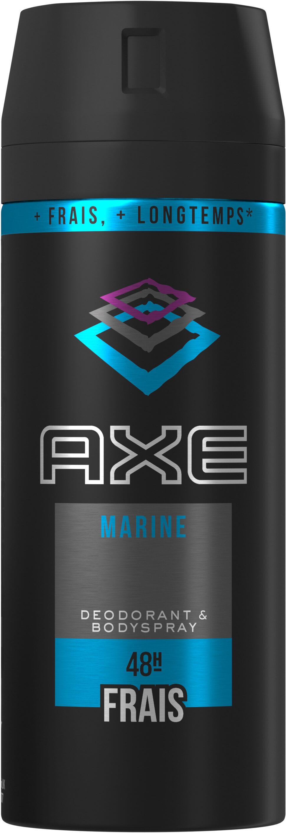 AXE Déodorant Homme Spray Antibactérien Marine - Produit - fr