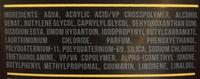 AXE Gel Cheveux Effet Mat Fixation Extra Forte 24h Tube - Ingrédients - fr