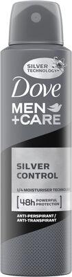 Dove Men+Care Anti transpirant Silver Control 48H Spray - Product - fr