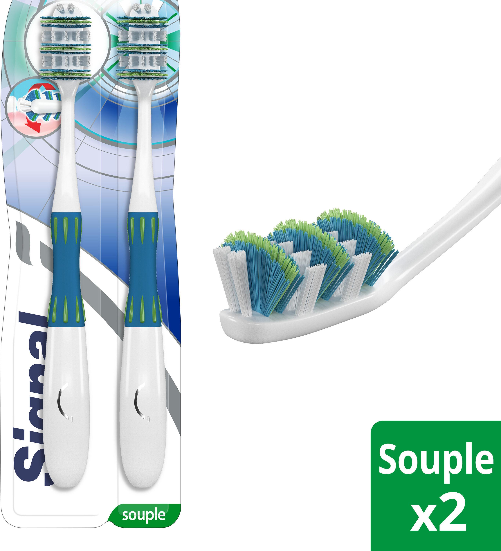 Signal Brosse à Dents Expert Vertical Souple Lot de 2 - Produit - fr