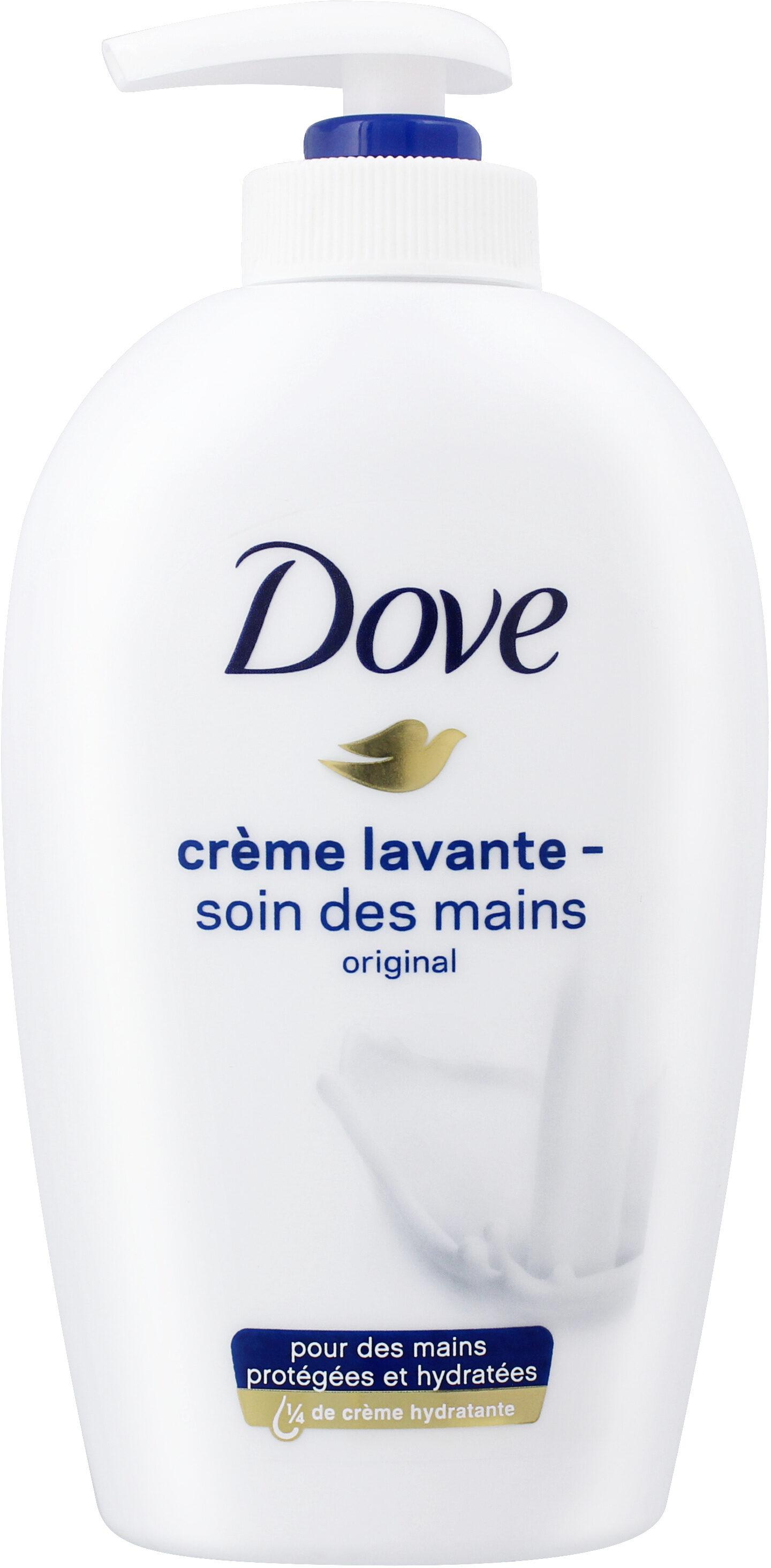 Dove Crème Lavante Pompe Soin des Mains Original - Produit - fr
