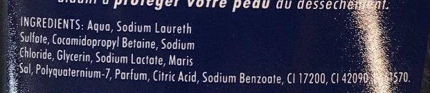 Gel douche 3 en 1 Extra Cool - Ingredients - fr