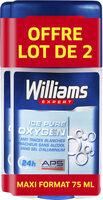 Williams Déodorant Homme Stick Ice Blue 75ml Lot de 2 - Product - fr