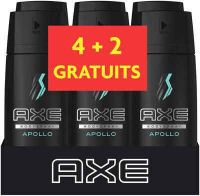 AXE Apollo Déodorant Homme 48H Frais Spray 150 ml Lot de 4+2 offerts - Product - fr