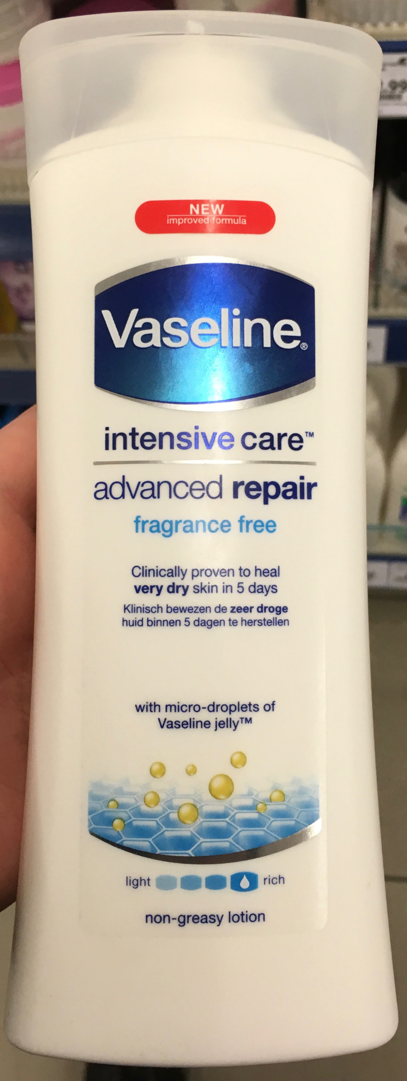 Intensive Care Advanced Repair Lotion - Product