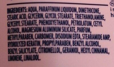 Vaseline - Ingredients - en