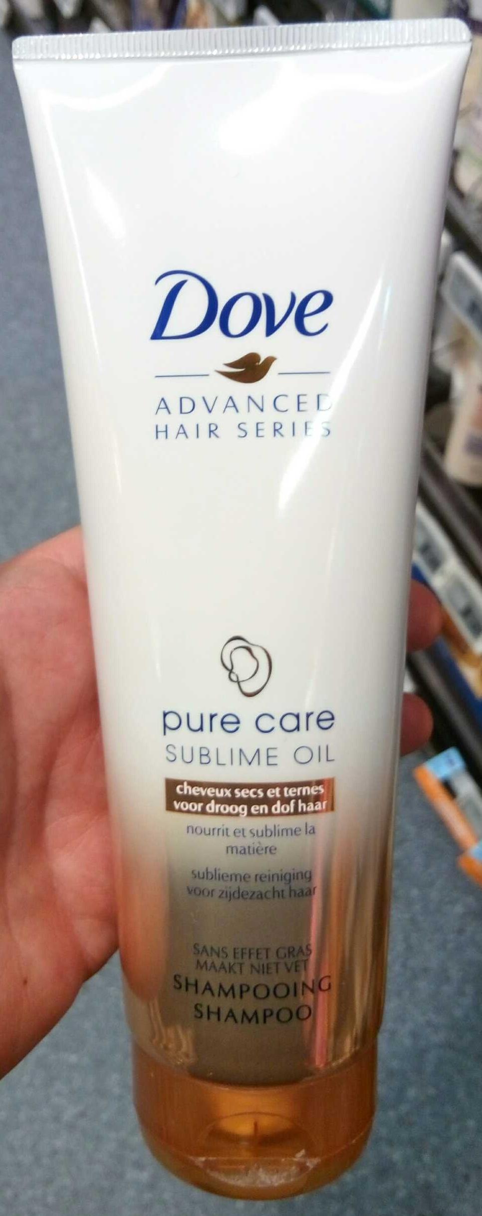 Advanced Hair Series Pure Care Sublime Oil - Produit