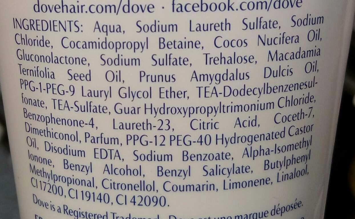 Advanced Hair Series Pure Care Sublime Oil - Ingrédients