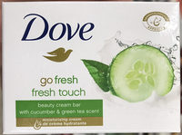 Go Fresh Fresh Touch Beauty Cream Bar with Cucumber & Green Tea Scent - Produit
