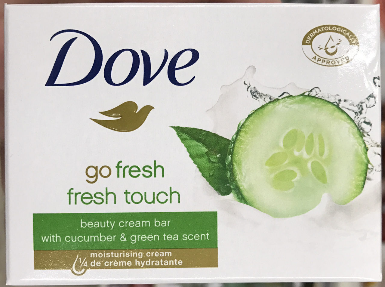 Go Fresh Fresh Touch Beauty Cream Bar with Cucumber & Green Tea Scent - Produit - fr