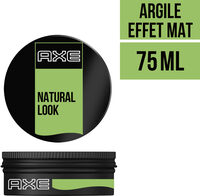 AXE Natural Gel Cheveux Argile Remodelable Effet Mat Black Pot - Produit - fr