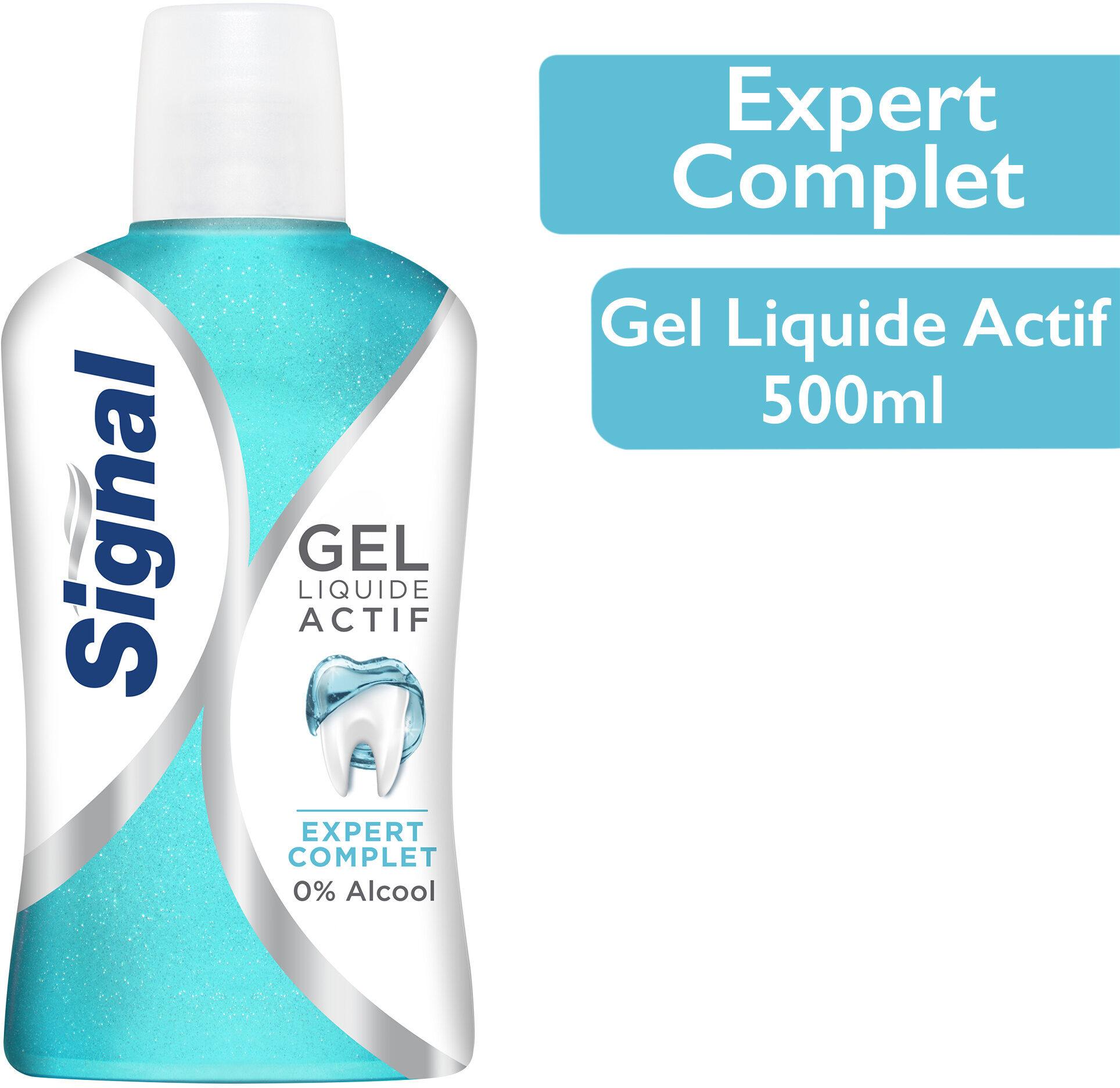 Signal Bain de Bouche Gel Liquide Actif Expert Complet - Produit - fr