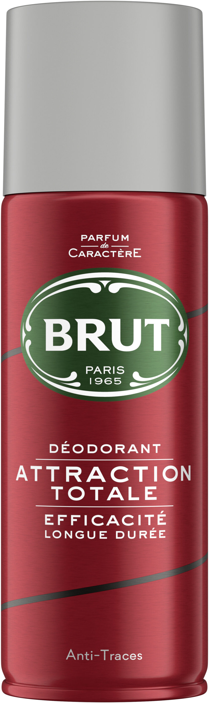 Brut Déodorant Homme Spray Antibactérien Attraction Totale Spray - Product - fr