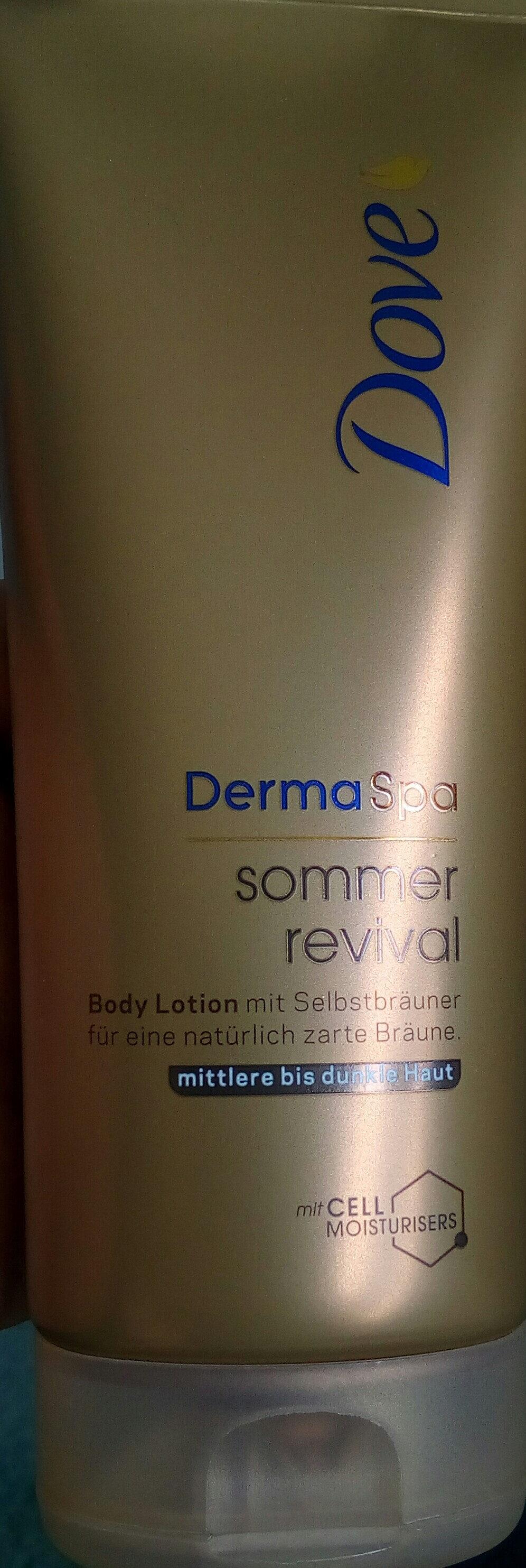Derma Spa Sommer Revival - Produit - de