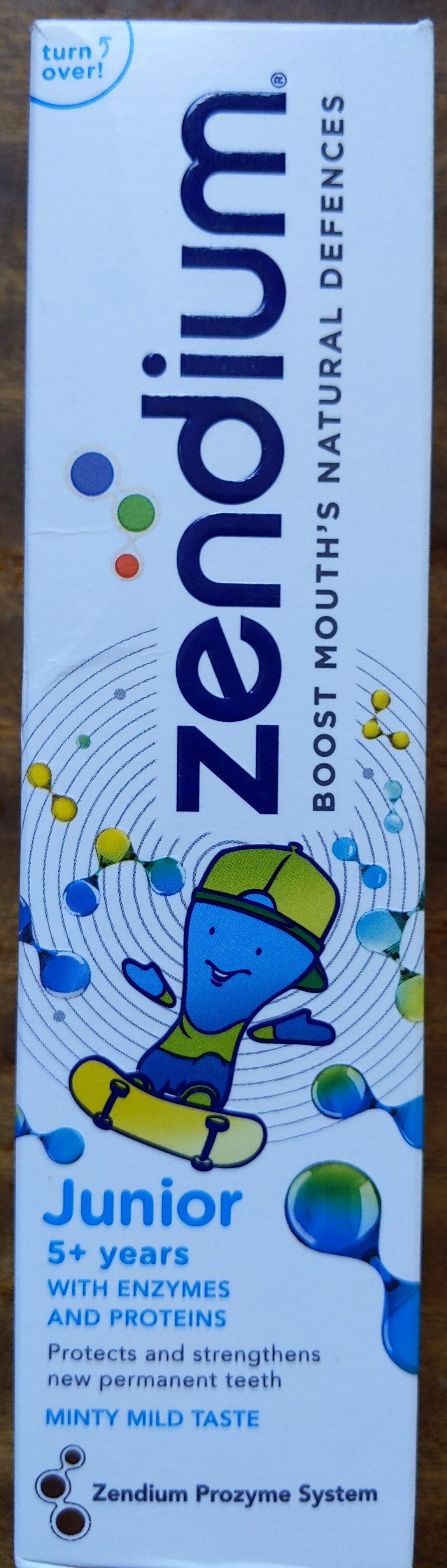 Zendium Junior 5+ years - Produit - nl