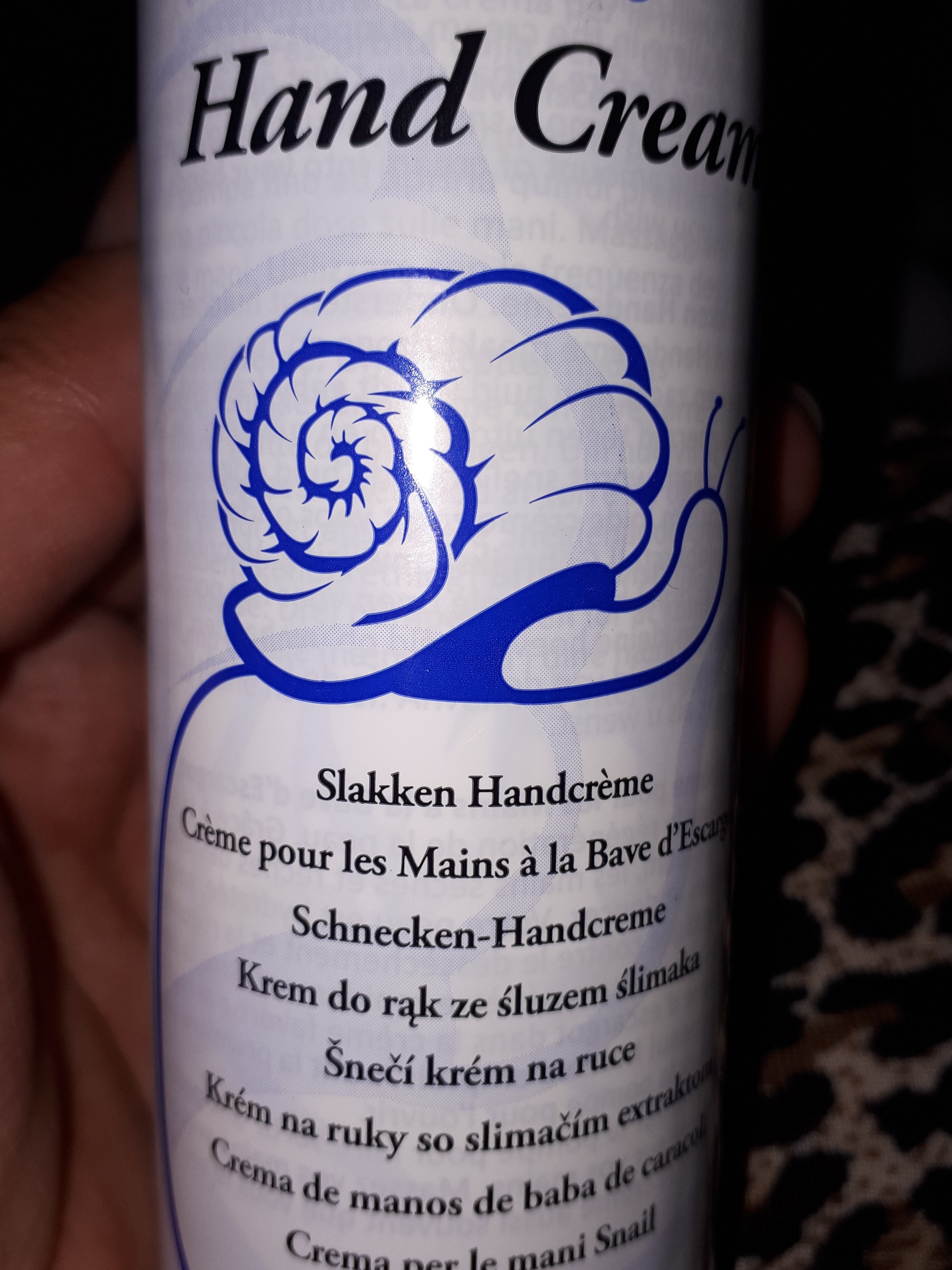 snail hand cream - Product - fr