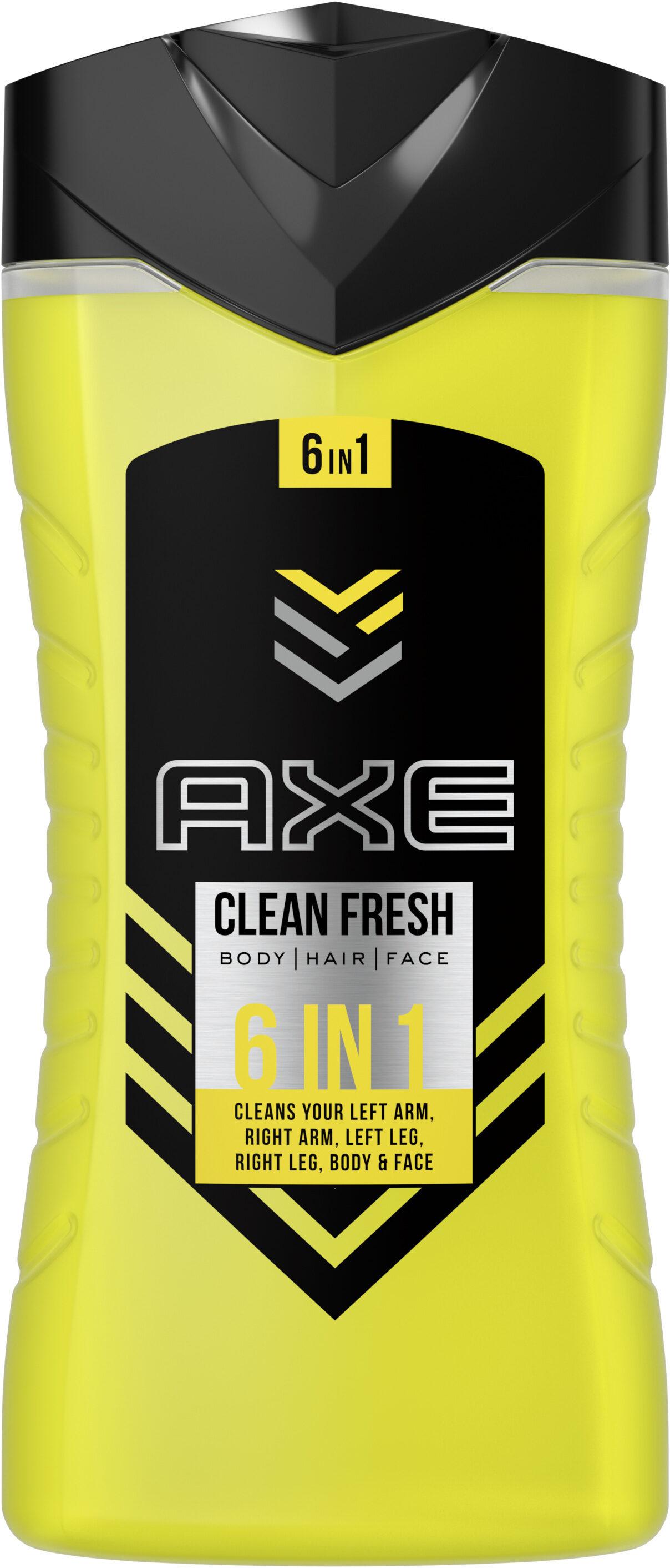 AXE Gel Douche 6en1 YOU Clean Fresh - Produit - fr