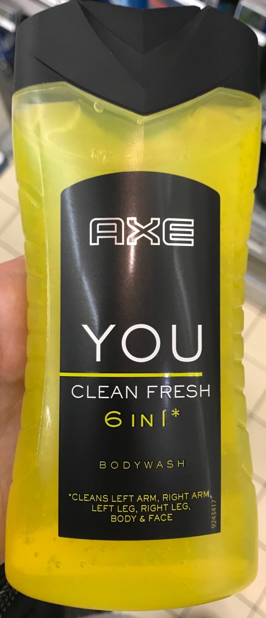 You Clean Fresh 6 in 1 Bodywash - Product