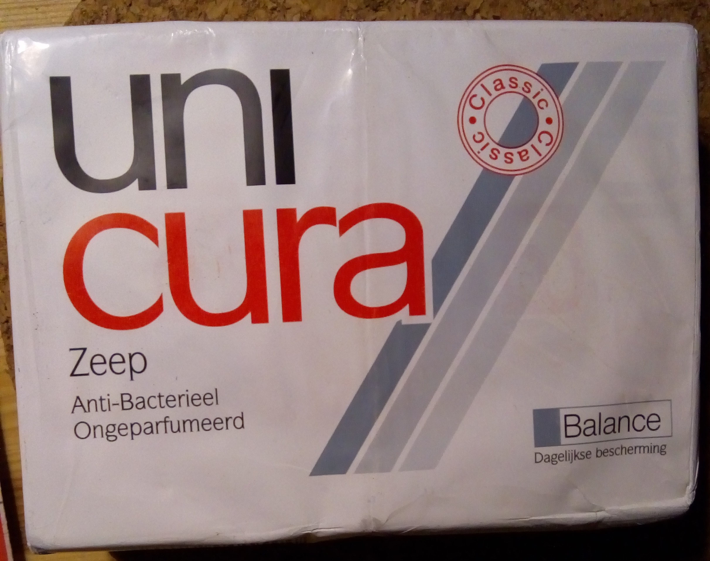 Unicura zeep balance - Ingredients