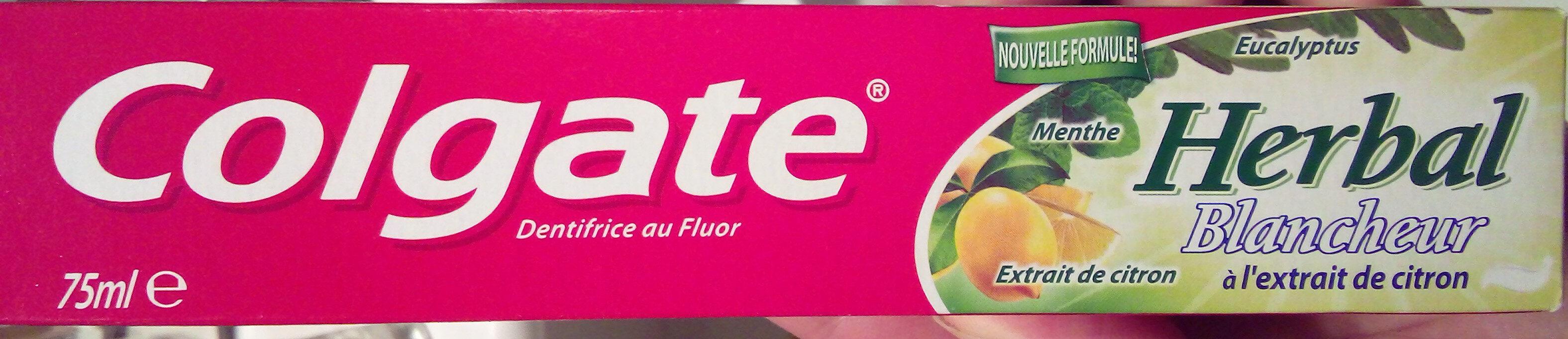 Herbal Blancheur à l'extrait de citron - Product - fr