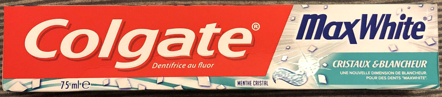 MaxWhite cristaux & blancheur menthe cristal - Product - fr