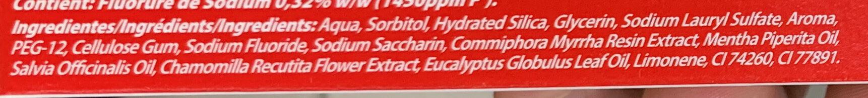 Herbal Original - Ingredients - fr