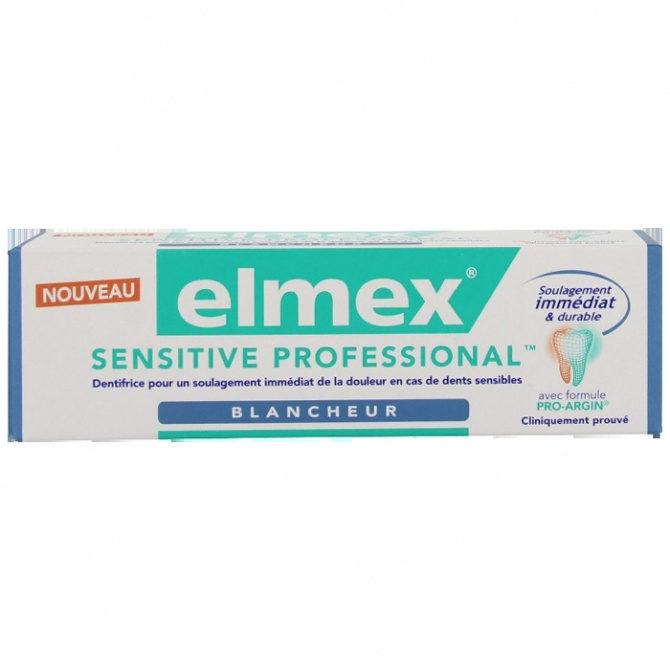 Elmex sensitive professional Blancheur - Produit - fr