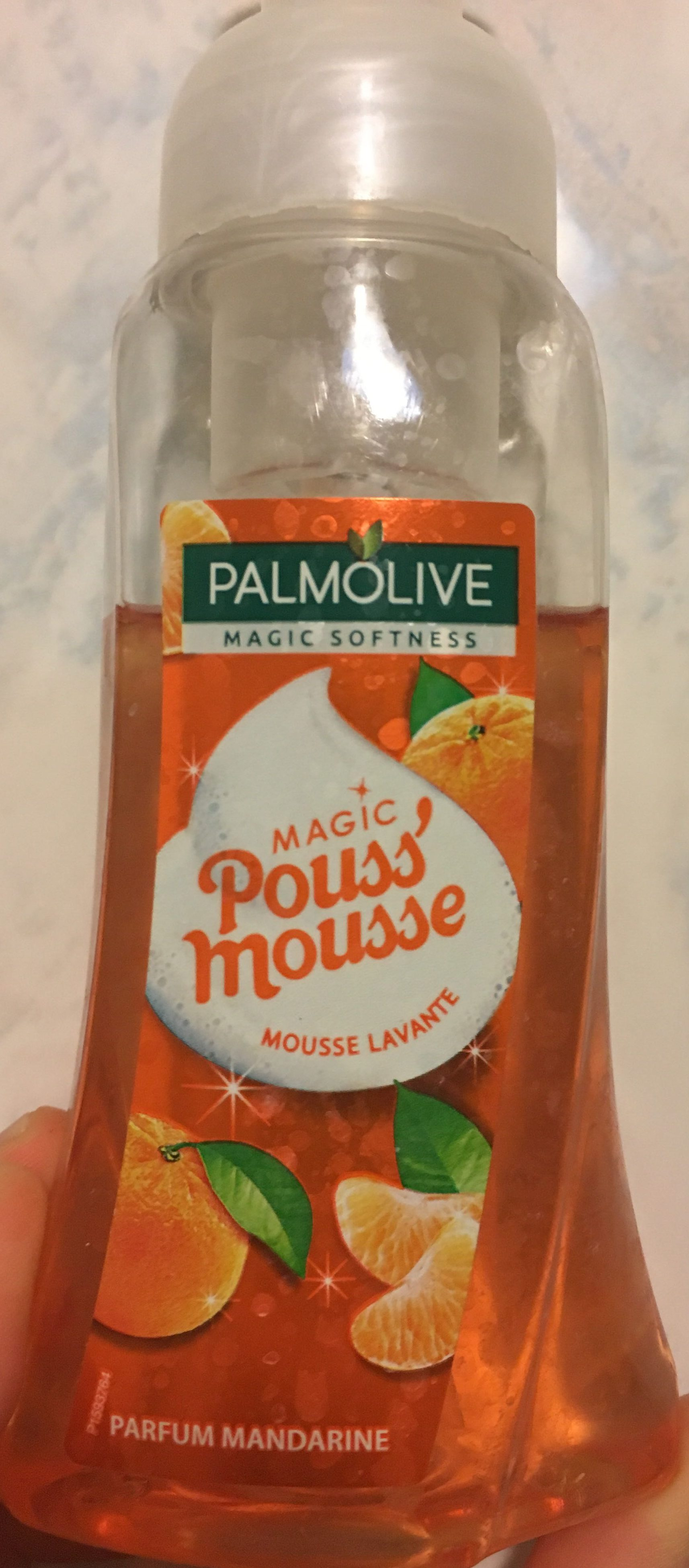 Magic Pouss'Mousse parfum Mandarine - Produit - fr
