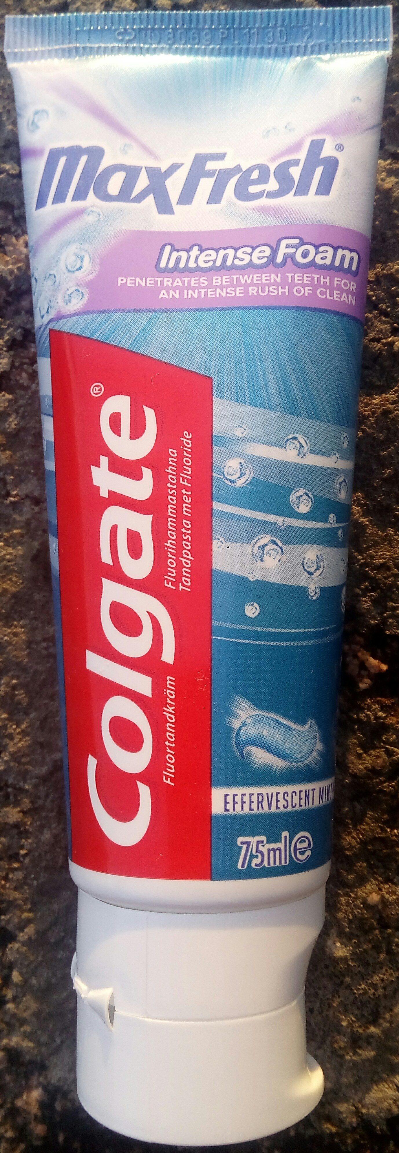 Colgate MaxFresh Intense Foam - Product