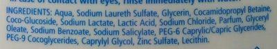 Dermo moisturising, dermo oil - Ingrédients