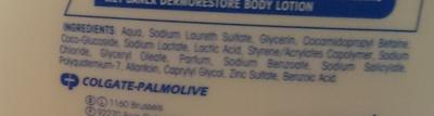 DermoRestore Douche crème peaux abimées, peaux sèches - Ingredients