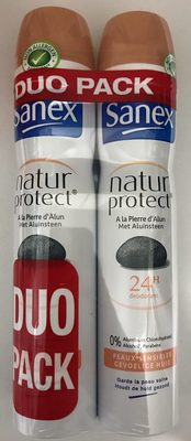 Natur Protect à la pierre d'alun 24h (duo pack) - Product - fr