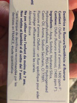 Dentifrice Elmex Sensitive - Product
