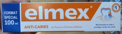 Dentifrice auti-caries - Product