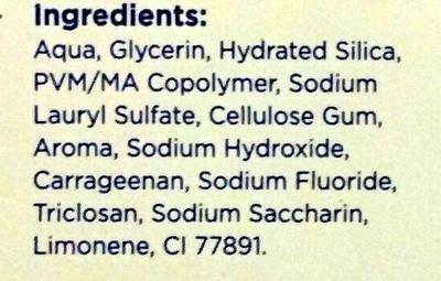 Total Original - Ingredients