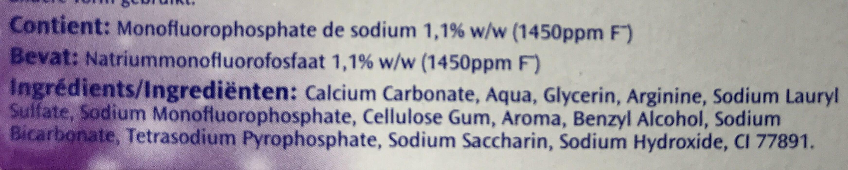 Defi zero carie - Ingredients